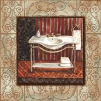 Framed Bordo Vintage Bathroom Sink