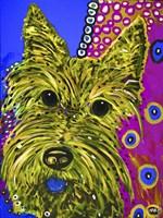 Framed Scottie Yellow