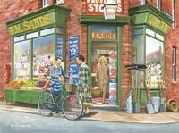 Framed Corner Shop