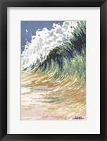Framed Big Wave