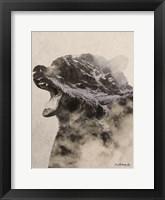 Framed Bear Fog