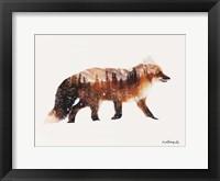 Framed Arctic Red Fox