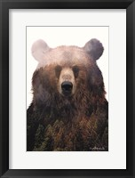 Framed King of the Forest