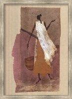 Framed Women with a Basket