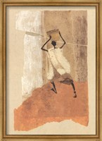 Framed Man with a Calabash