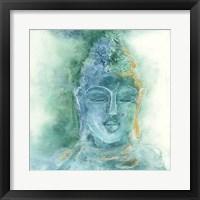 Framed Gilded Buddha II