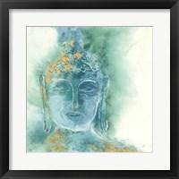Framed Gilded Buddha I