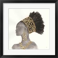 Framed Headdress Beauty II