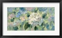 Framed Hydrangea Mosaic