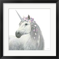 Framed Spirit Unicorn II Sq Enchanted