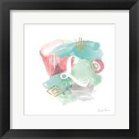 Framed Abstract Monogram L