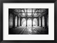 Framed Bethesda Terrace