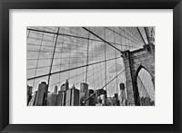 Framed Brooklyn Bridge