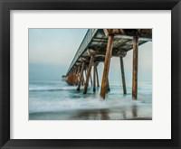 Framed Coastal Pier