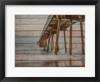 Framed Pier on Wood I