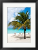 Framed Relaxing Beach