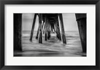 Framed Surf in Black & White