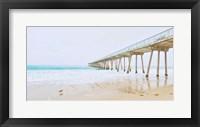 Framed Beach Pier View