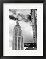 Framed Park Ave View