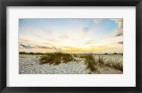 Framed Sunset Beach
