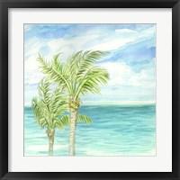 Framed Refreshing Coastal Breeze I