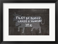 Framed Filet De Boeuf
