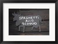 Framed Spaghetti Allo Scoglio