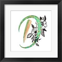 Framed Monogram D