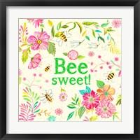 Framed Bee Sweet