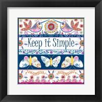 Framed Keep it Simple