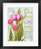 Framed Elegant Tulip II