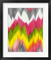 Framed Vibrant Crests I