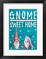 Framed Gnome Sweet Home