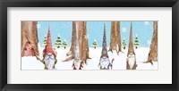 Framed Gnome Family