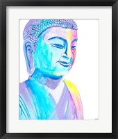 Framed More Vibrant Buddha