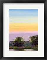 Framed Glowing Sunset
