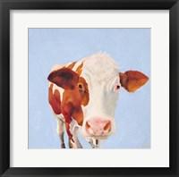 Framed Cow Self Portrait
