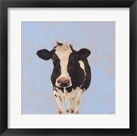 Framed Onward Cow
