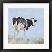 Framed Posing Cow