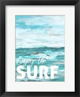 Framed Enjoy The Surf