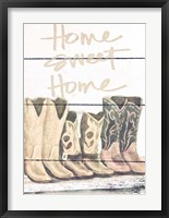 Framed Home Sweet Home Boots in Shape