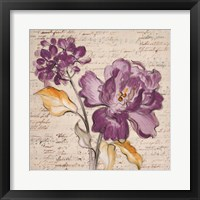 Framed Lilac Beauty II