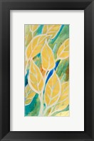 Framed Swaying Leaves I