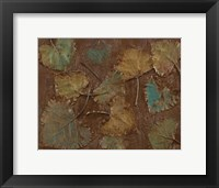 Framed Abiquiu Leaves