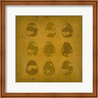 Framed All Lined Up- Pears