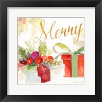 Presents and Notes I Framed Print