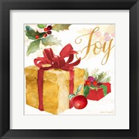 Presents and Notes III Framed Print