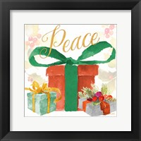 Presents and Notes IV Framed Print