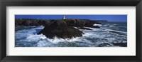Framed Belle Ile en Mer Poulains