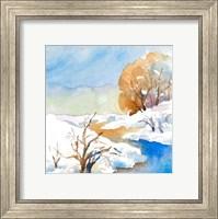 Framed Snowy Serenity II
